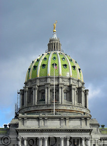 State Capitol Building in Pennsylvania